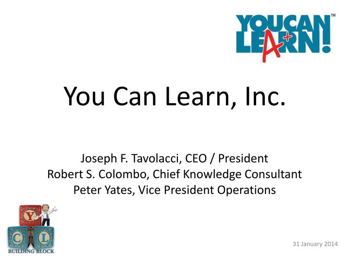 You can learn inc