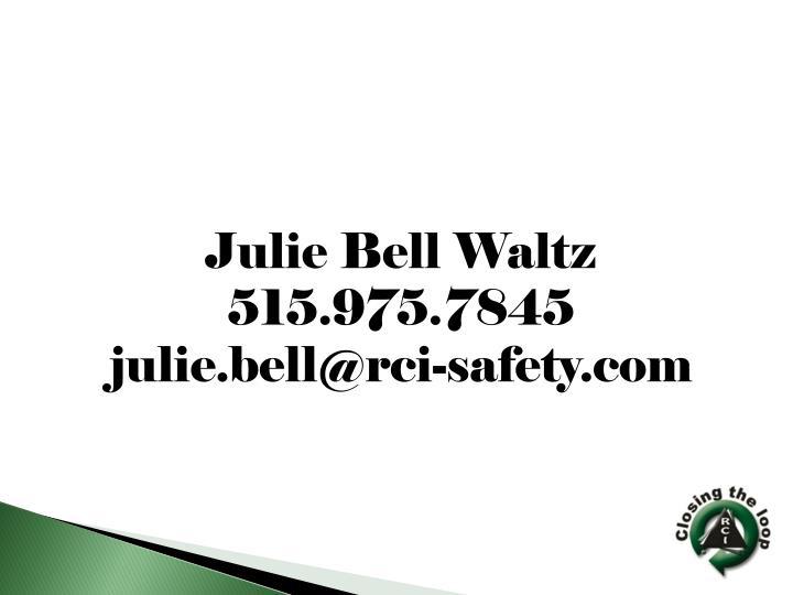 Julie Bell Waltz