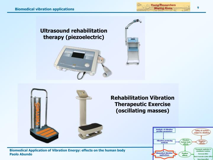 Biomedical vibration applications