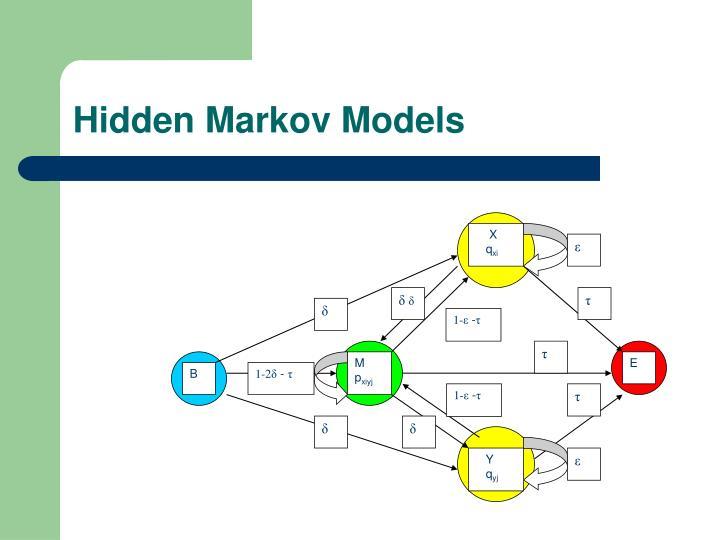 Hidden markov models2