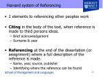 harvard system of referencing1