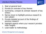 literature review process1