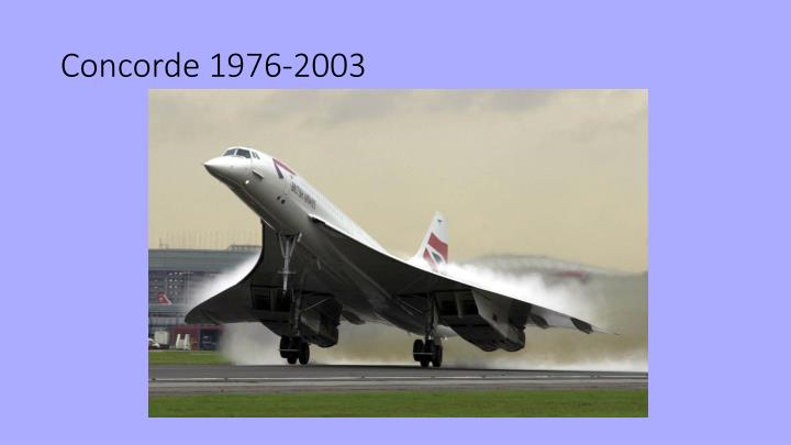 Concorde 1976-2003