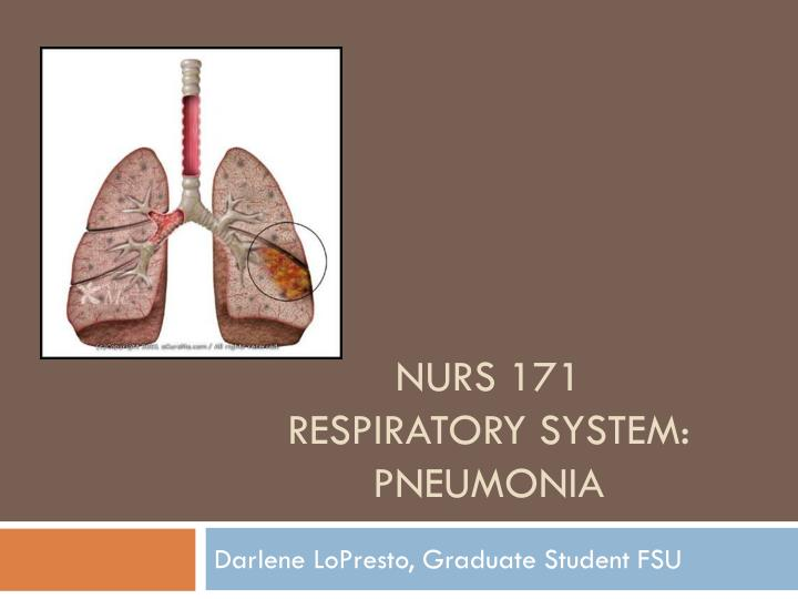 chapter 28 nursing management lower respiratory