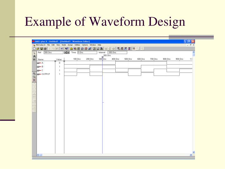 Example of Waveform Design