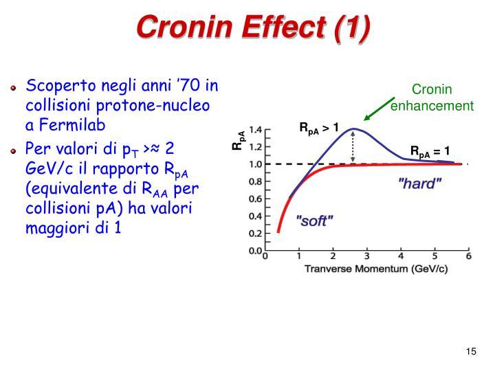 Cronin enhancement