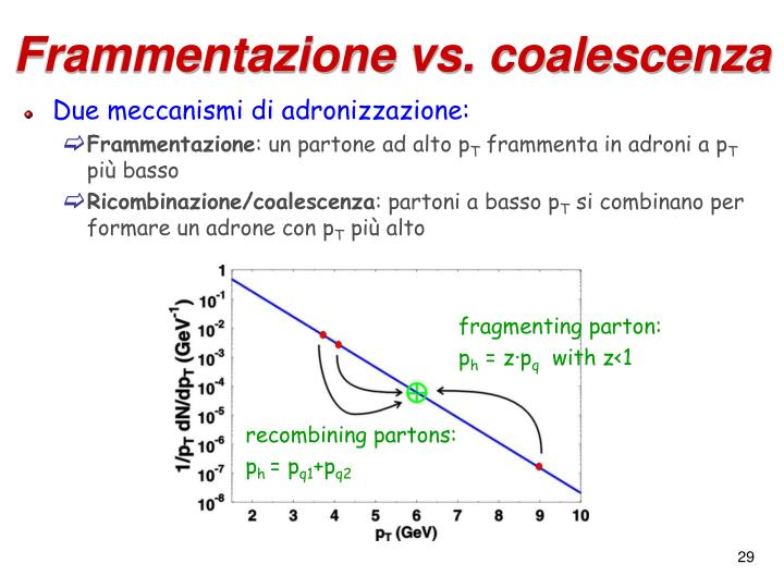 Frammentazione vs. coalescenza