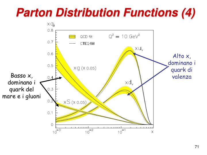 Parton Distribution Functions (4)