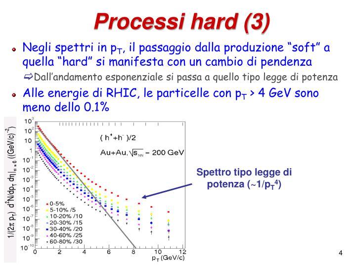 Processi hard (3)