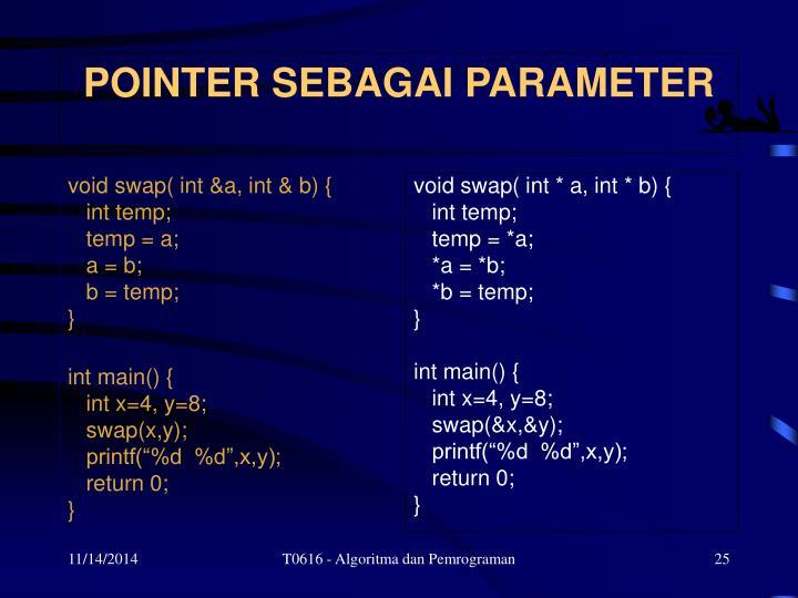 void swap( int &a, int & b) {