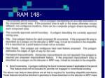 ram 148