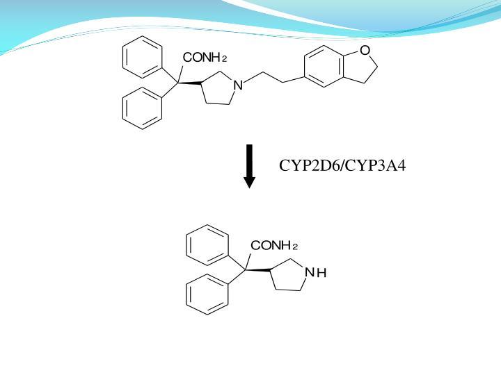 CYP2D6/CYP3A4