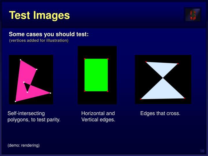 Test Images