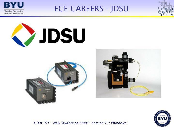 ECE CAREERS - JDSU