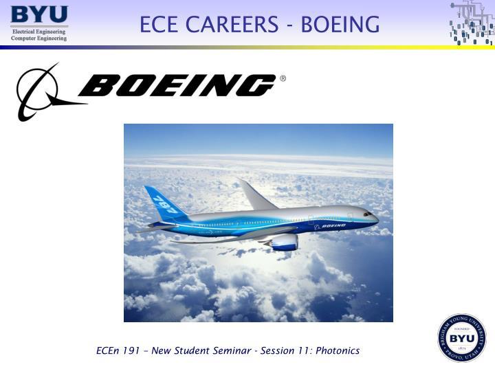ECE CAREERS - BOEING