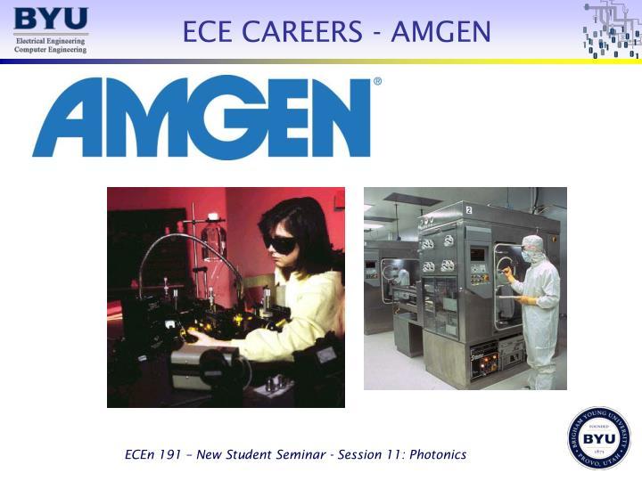 ECE CAREERS - AMGEN