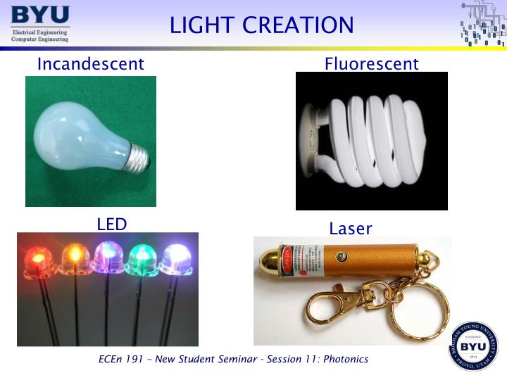 LIGHT CREATION