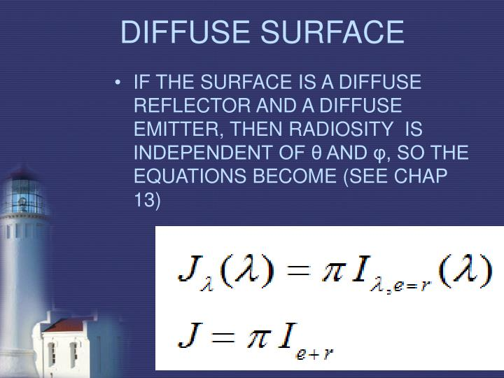 DIFFUSE SURFACE