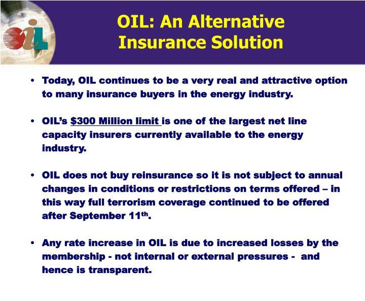 OIL: An Alternative
