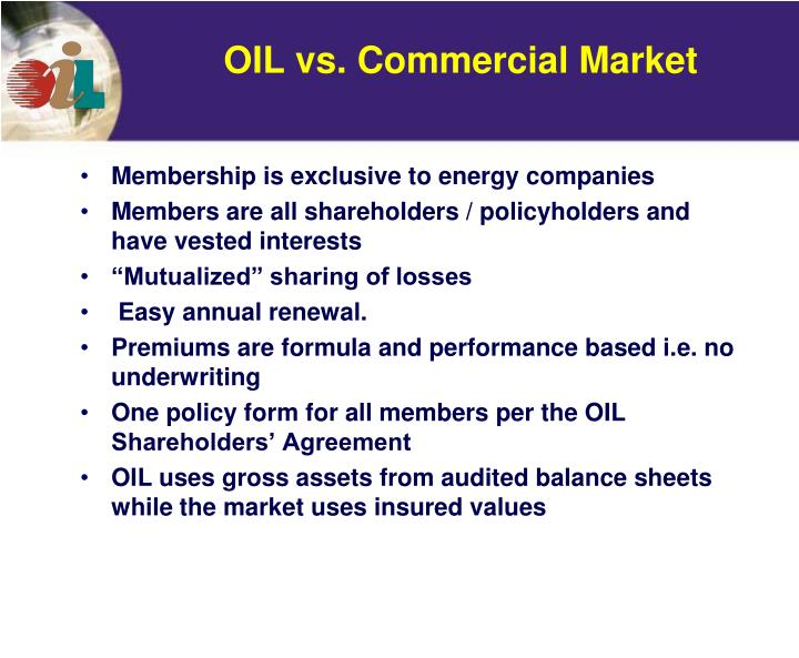 Membership is exclusive to energy companies