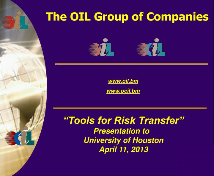 The oil group of companies