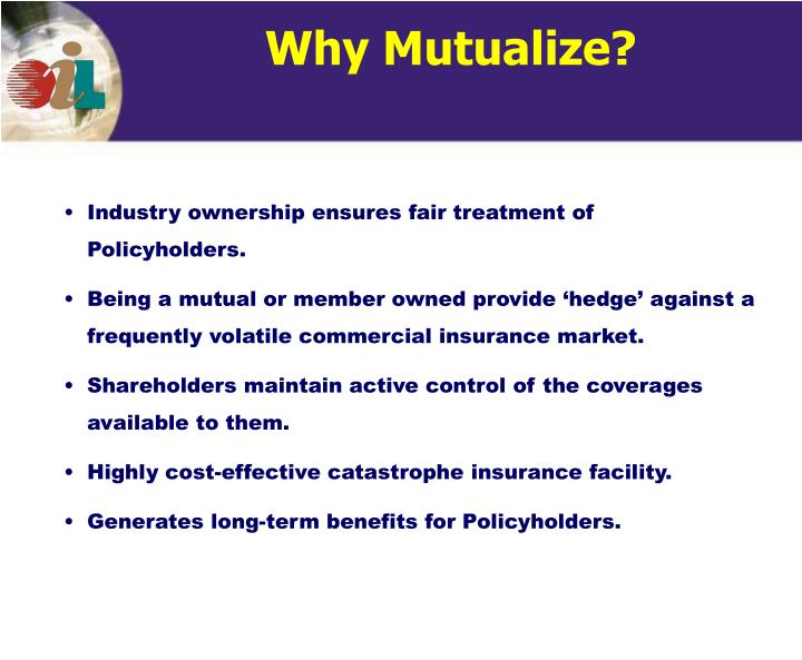 Why Mutualize?
