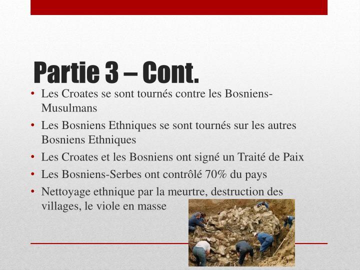 Les Croates se sont tournés contre les Bosniens-Musulmans