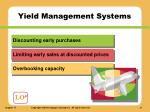 yield management systems1