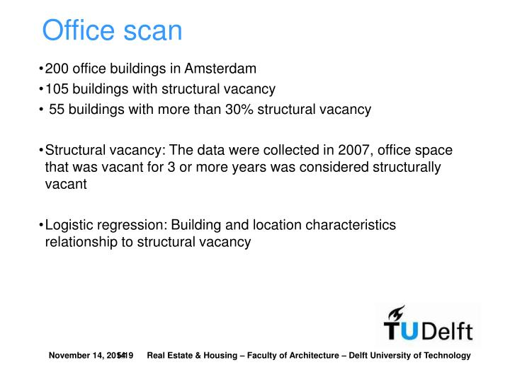 Office scan