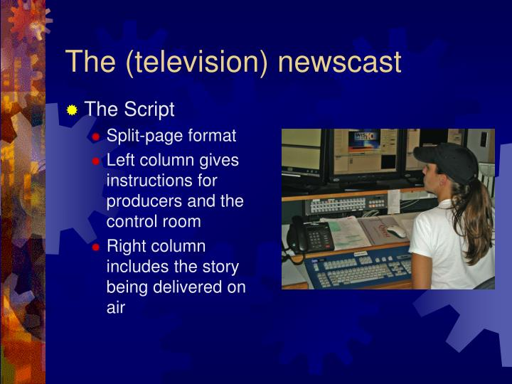 The (television) newscast
