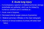 ii acute lung injury