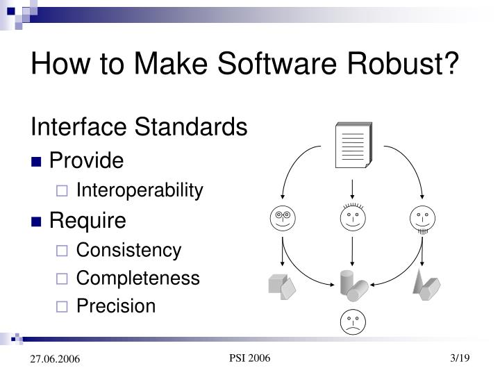 How to make software robust