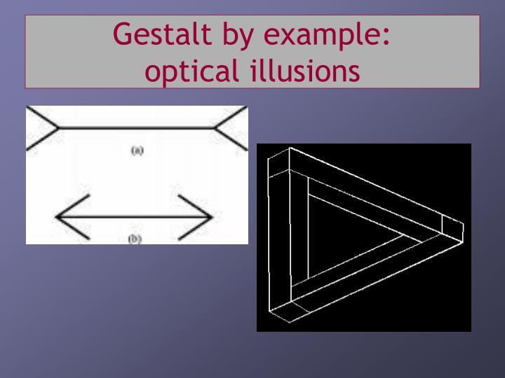 Gestalt by example: