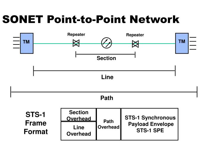 SONET Point-to-Point Network