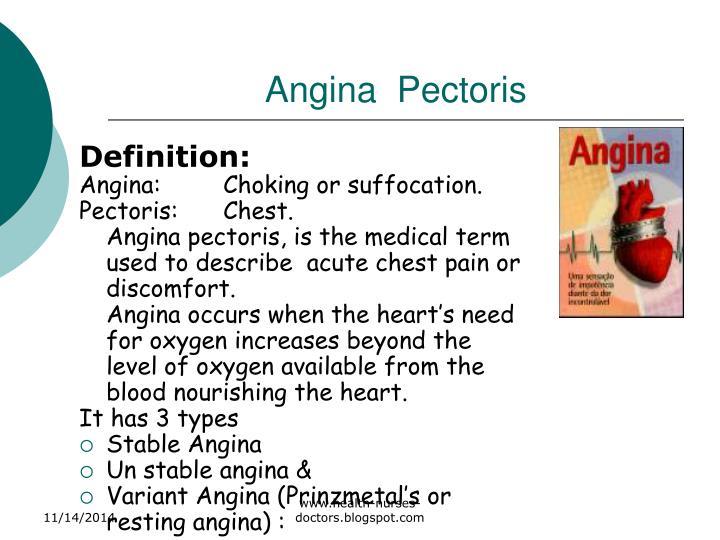 Angina  Pectoris