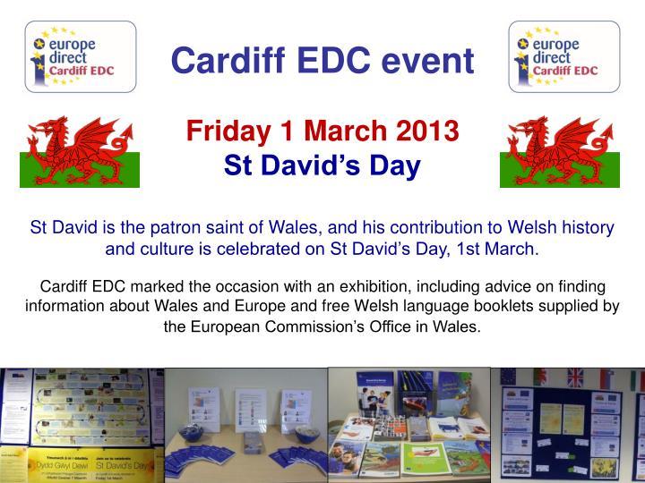 Cardiff EDC event