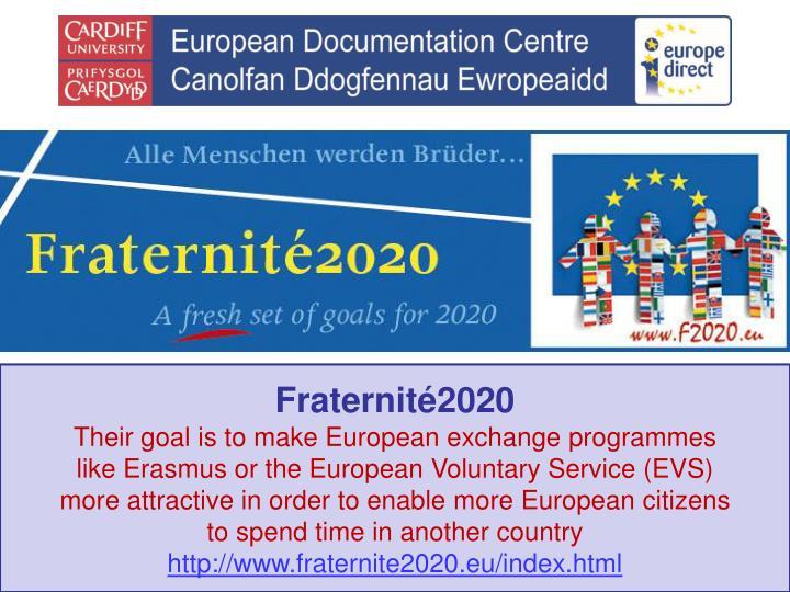 Fraternité2020