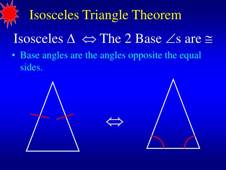 PPT - Isosceles, Equilateral, and Right Triangles ...