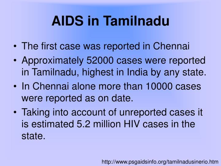 AIDS in Tamilnadu