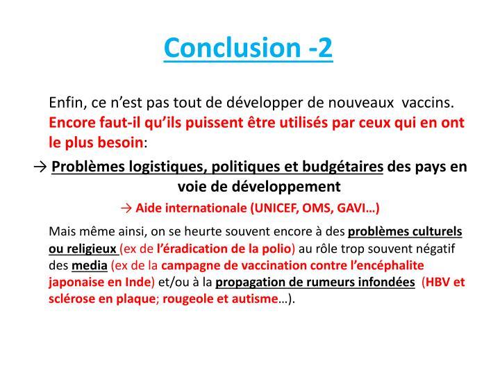 Conclusion -2