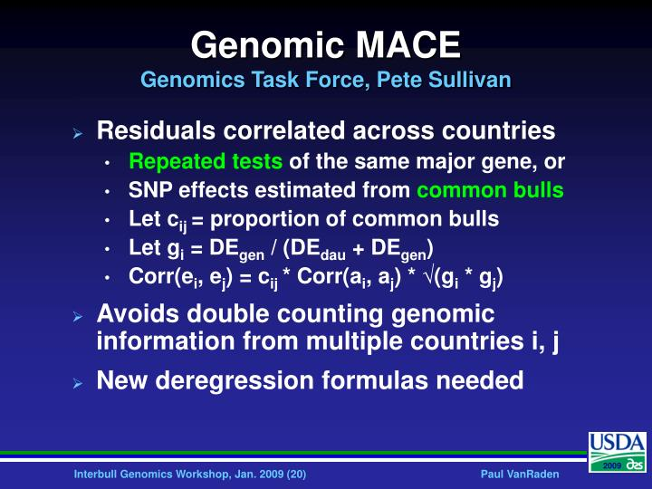 Genomic MACE