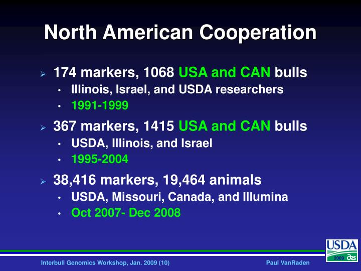 North American Cooperation