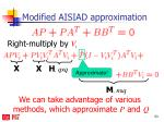 modified aisiad approximation1