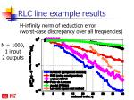 rlc line example results1
