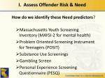 i assess offender risk need2