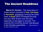 the ancient headdress1