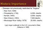 historic importance1