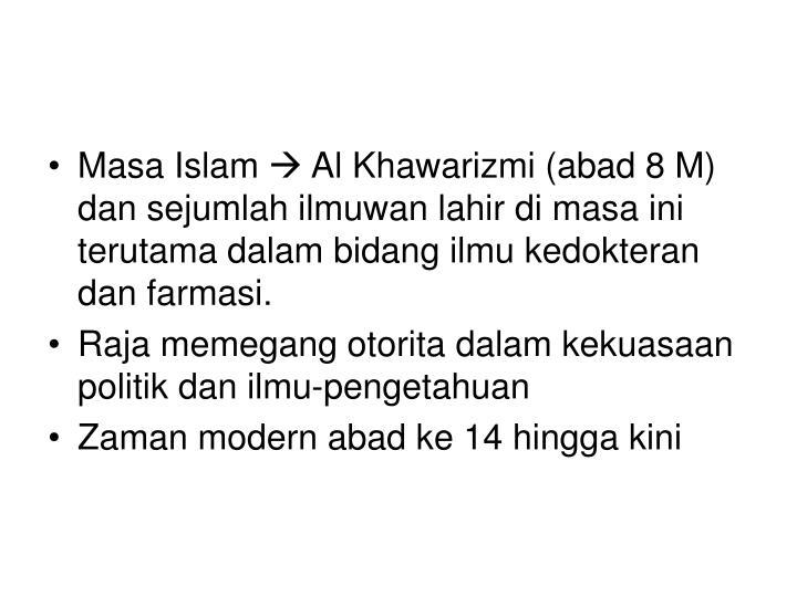 Masa Islam