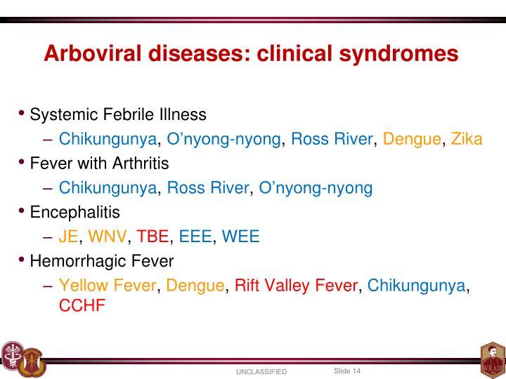 Systemic Febrile Illness