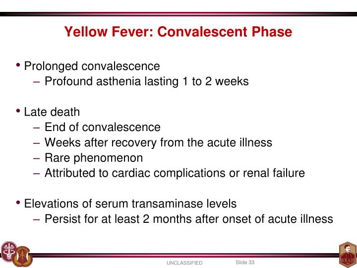 Prolonged convalescence